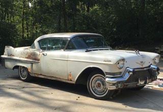 Cadillac- we buy classic Caddilac cars needing restorations