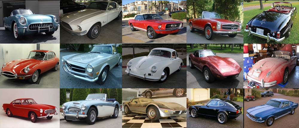 we buy all types of classic cars now
